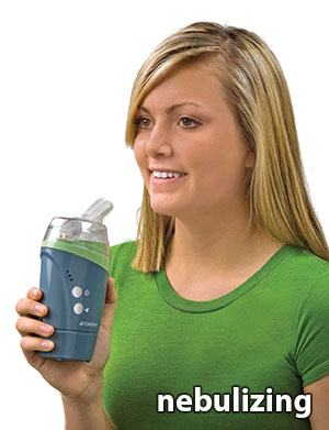 nebulize colloidal silver